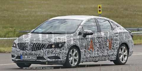 64 The 2020 Buick Verano Spy Picture