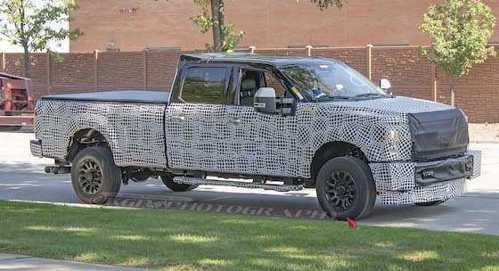 64 The 2020 Ford F250 Diesel Rumored Announced Spy Shoot