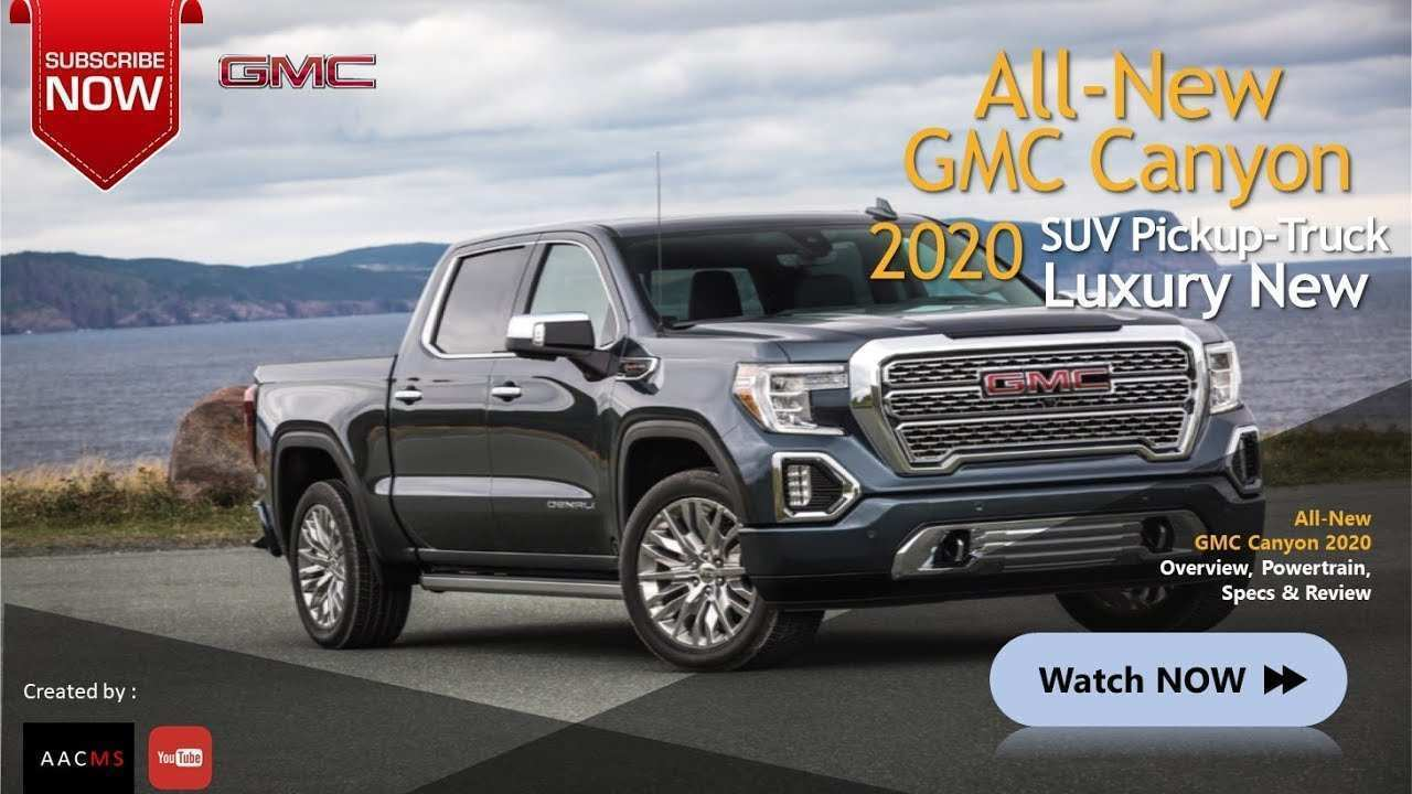 64 The 2020 GMC Canyon Concept And Review