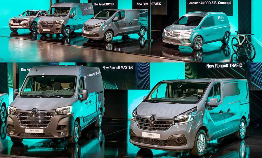 64 The 2020 Renault Trafic Redesign