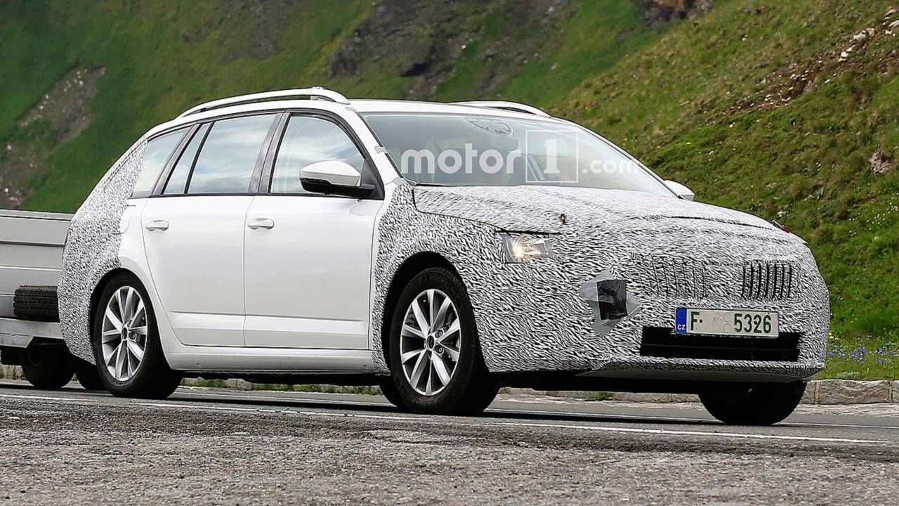 64 The 2020 The Spy Shots Skoda Superb New Model And Performance