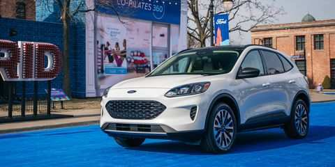 64 The Ford Hybrid Escape 2020 Redesign And Concept