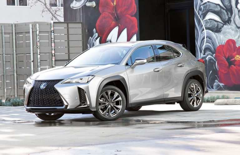 64 The Lexus Rx Facelift 2019 Pictures