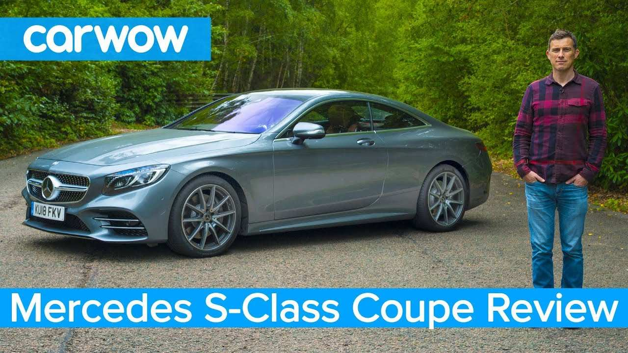 64 The Mercedes S Class Coupe 2019 Redesign