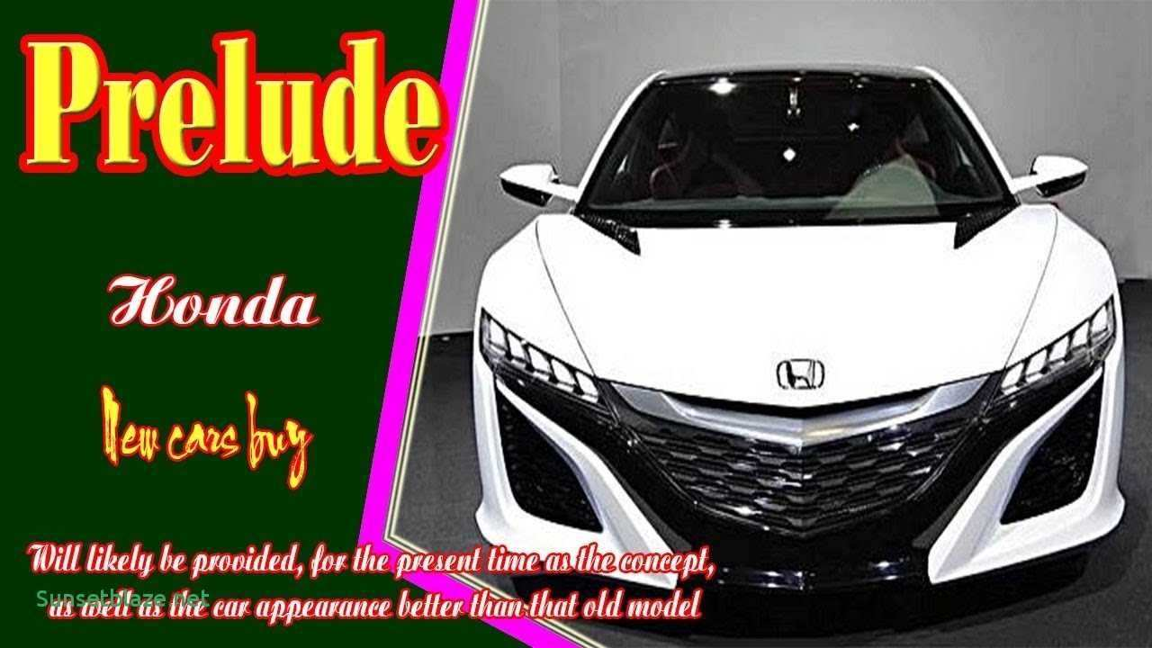 65 A 2019 Honda Prelude Performance And New Engine