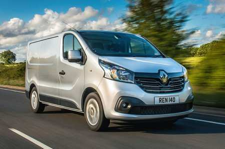 65 A 2019 Renault Trafic Engine