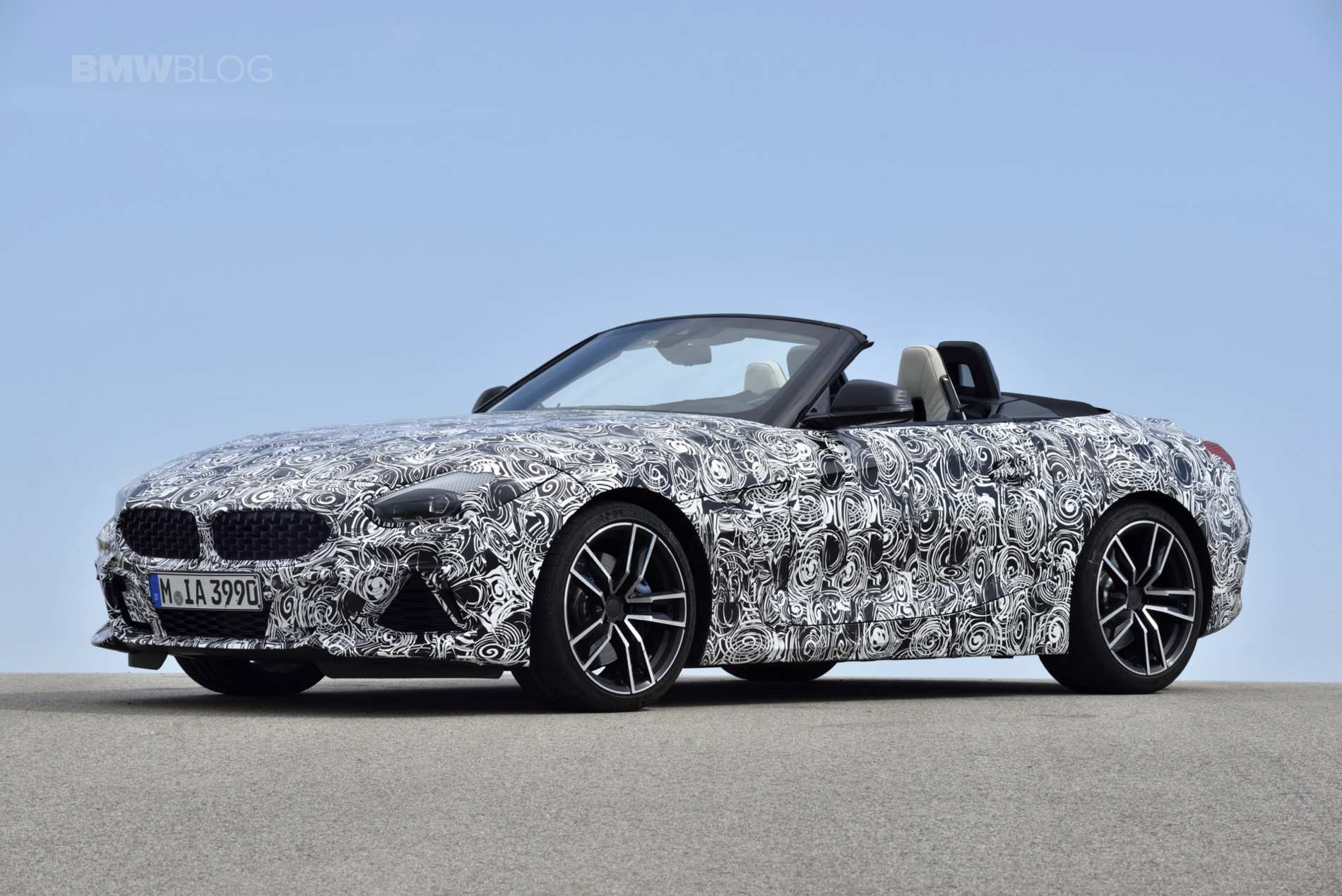 65 A 2020 BMW Z4 Roadster Speed Test