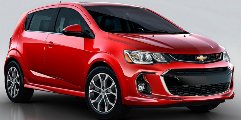 65 A 2020 Chevy Sonic Exterior