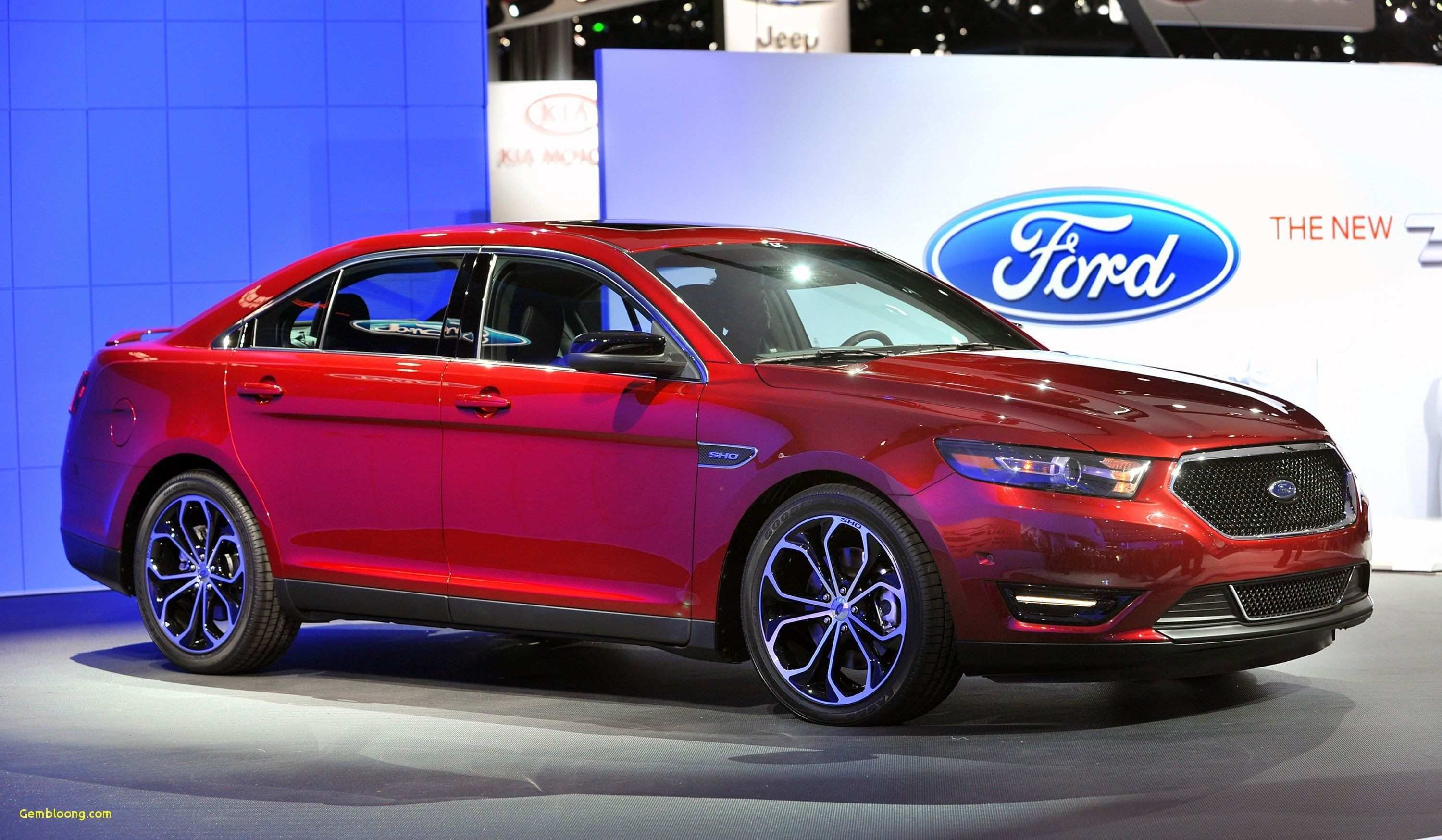 65 A 2020 Ford Taurus Spy Pictures