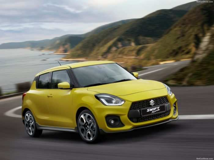 65 A 2020 New Suzuki Swift Sport Engine