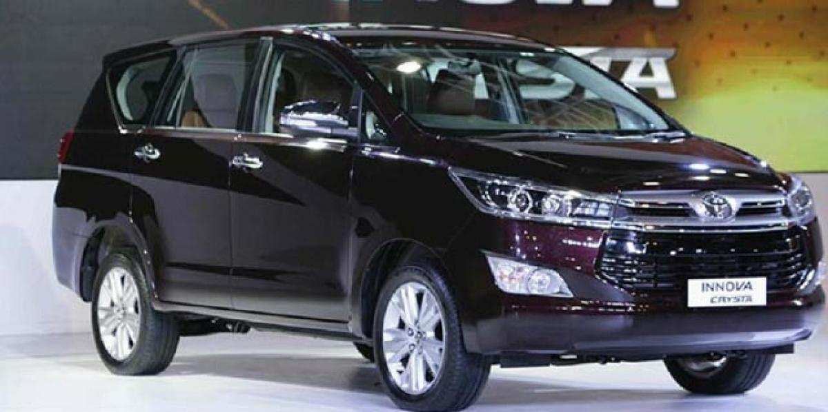 65 A Toyota Innova Crysta 2020 India Price