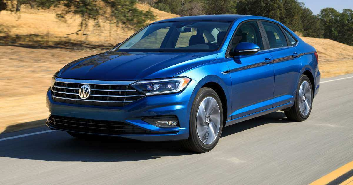 65 A Volkswagen Jetta 2019 India Model