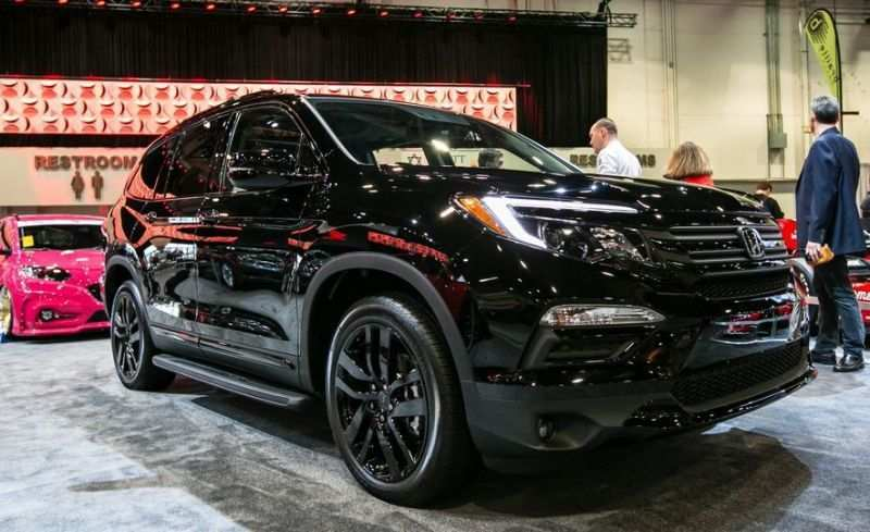 65 All New 2019 Honda Pilot Spy Photos New Model And Performance