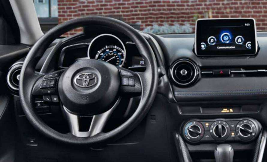 65 All New Toyota Ia 2019 Interior