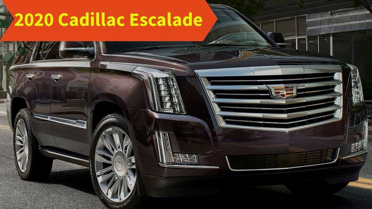 65 Best 2020 Cadillac Escalade Luxury Suv Spesification
