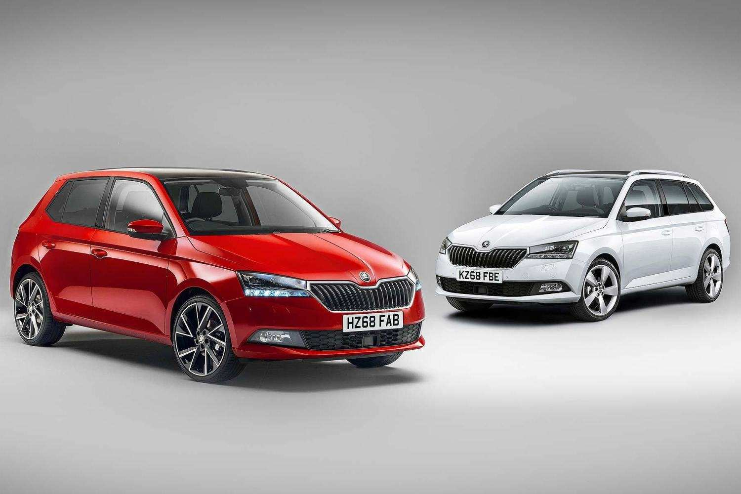 65 New 2019 Skoda Fabia Concept and Review
