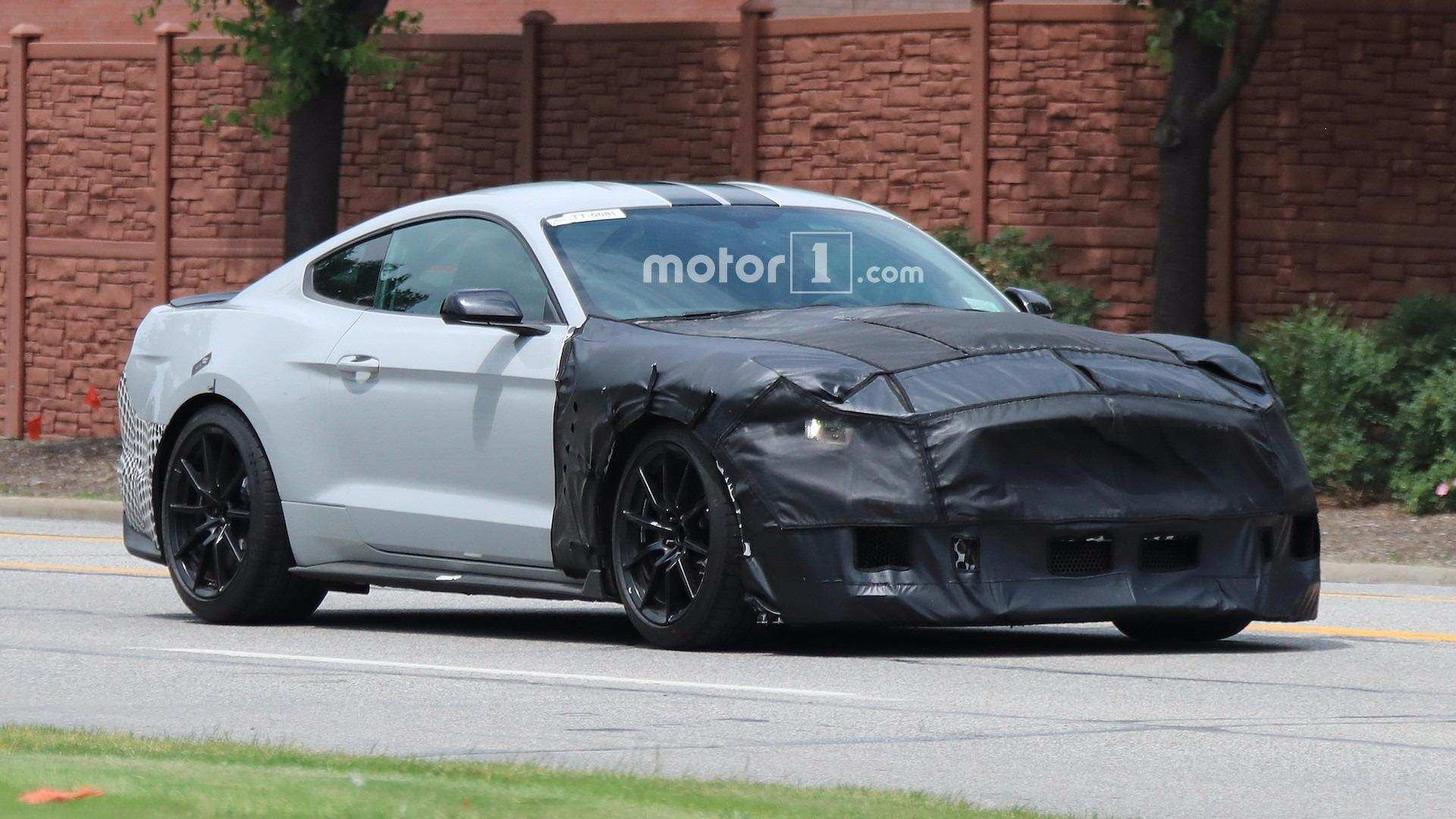65 New 2019 The Spy Shots Ford Mustang Svt Gt 500 Ratings