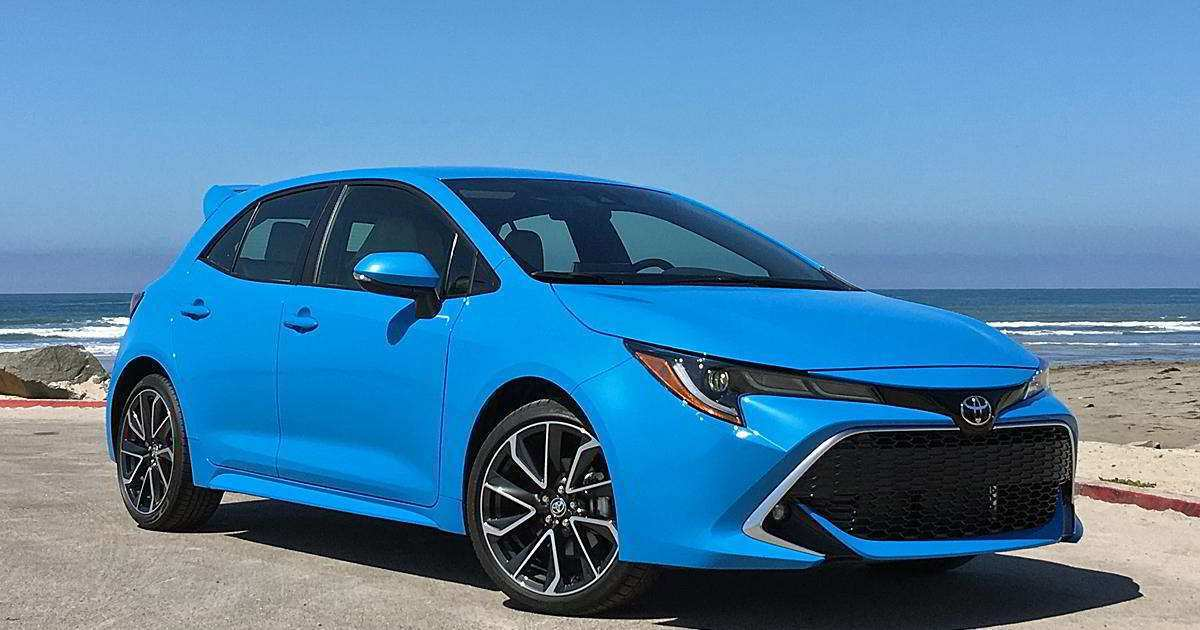 65 New 2019 Toyota Matrix Redesign And Review