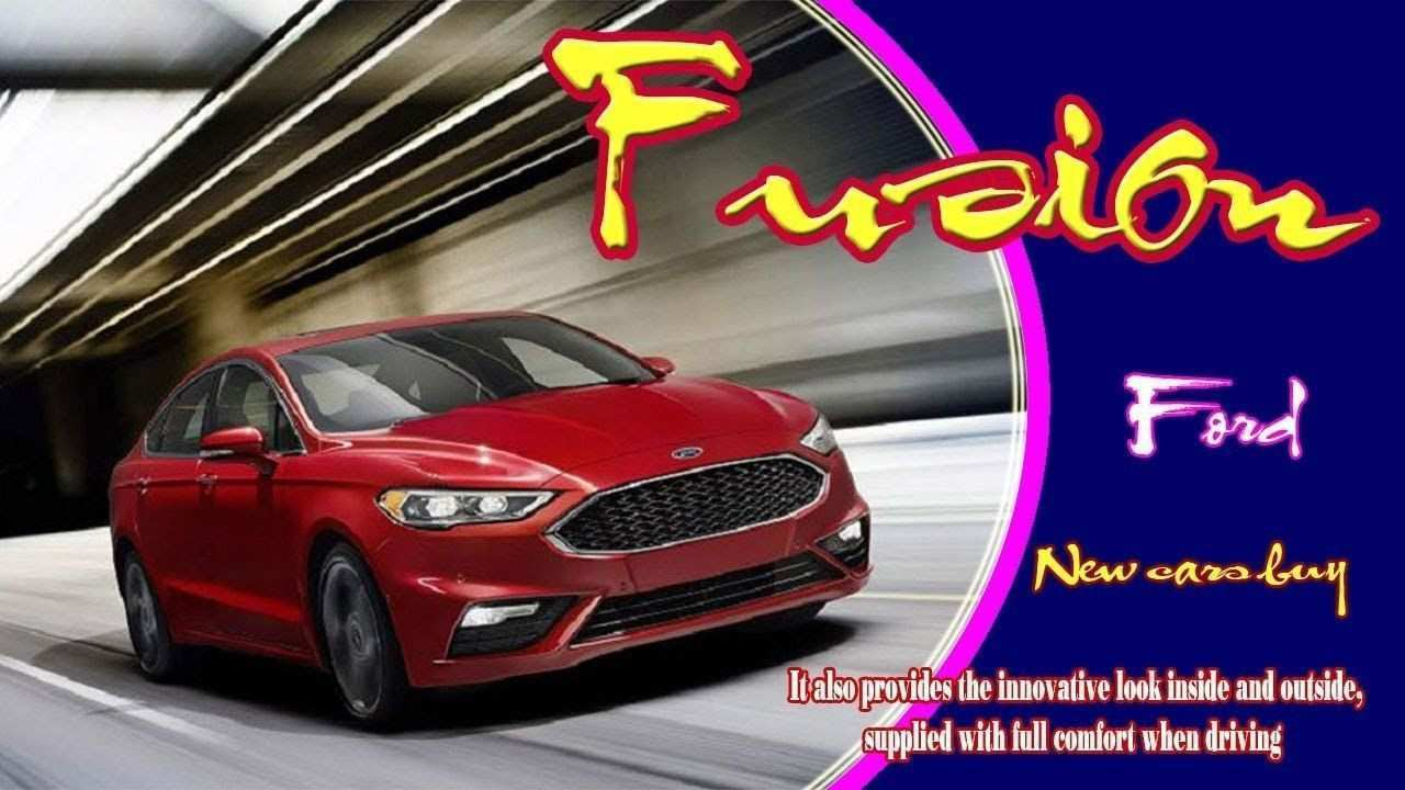 65 New 2020 The Spy Shots Ford Fusion Price