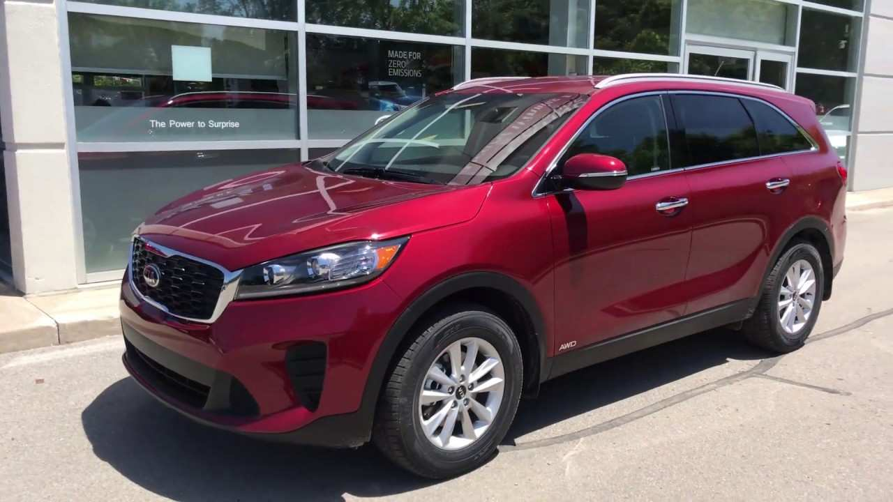 65 New Kia Sorento 2019 Video Price Design And Review