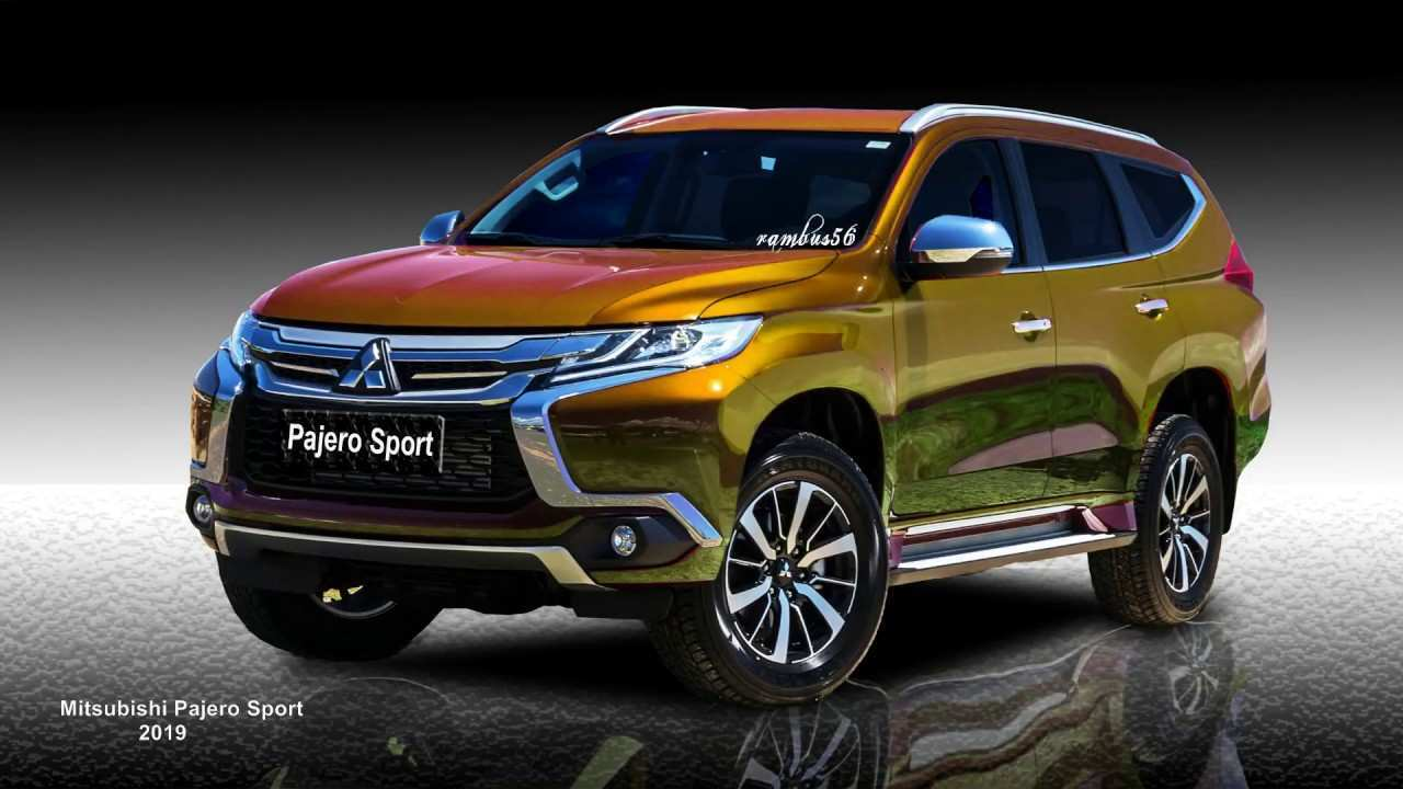 65 The 2019 Mitsubishi Montero Sport Picture