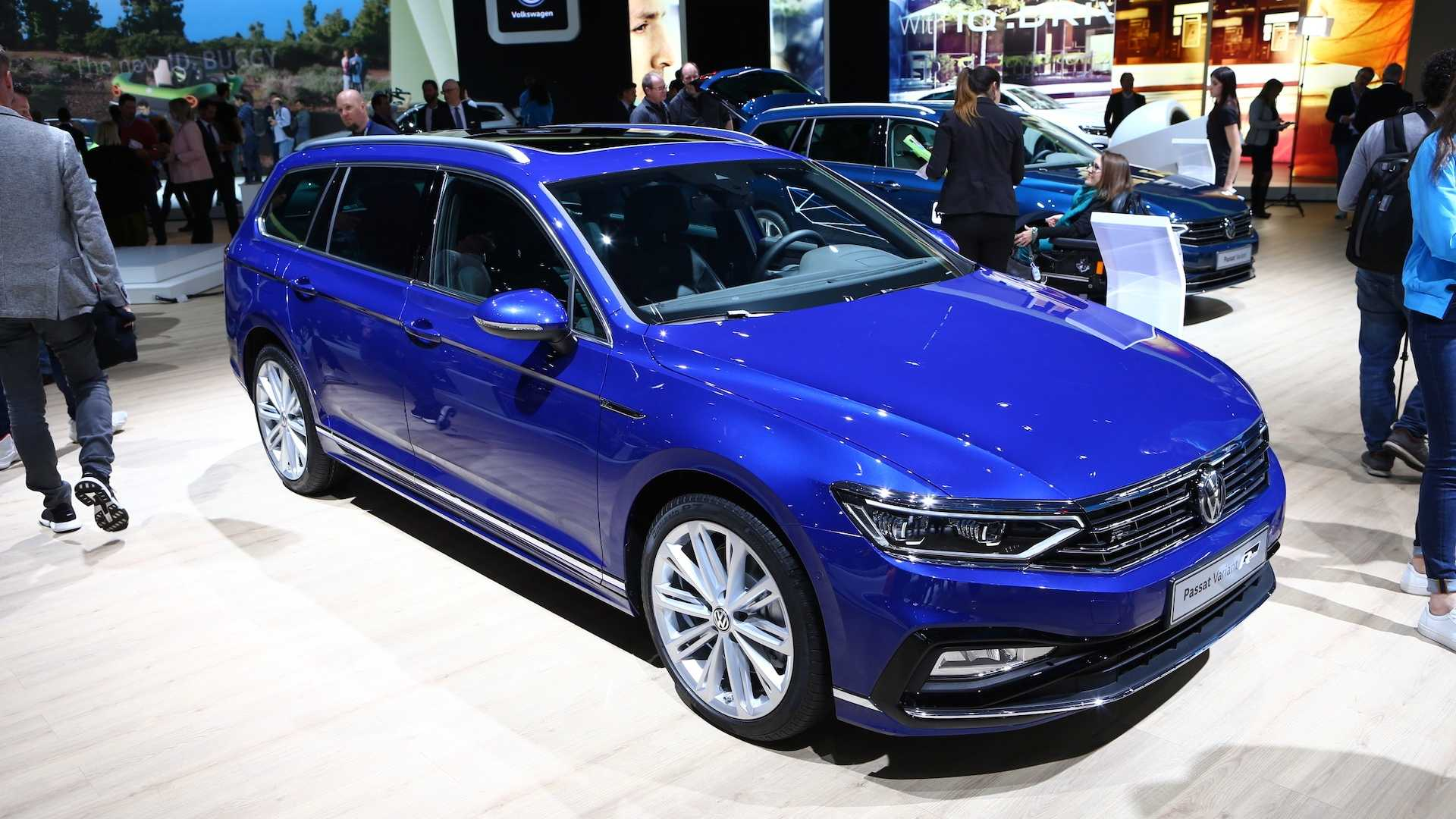 65 The 2019 Vw Passat Spy Shoot