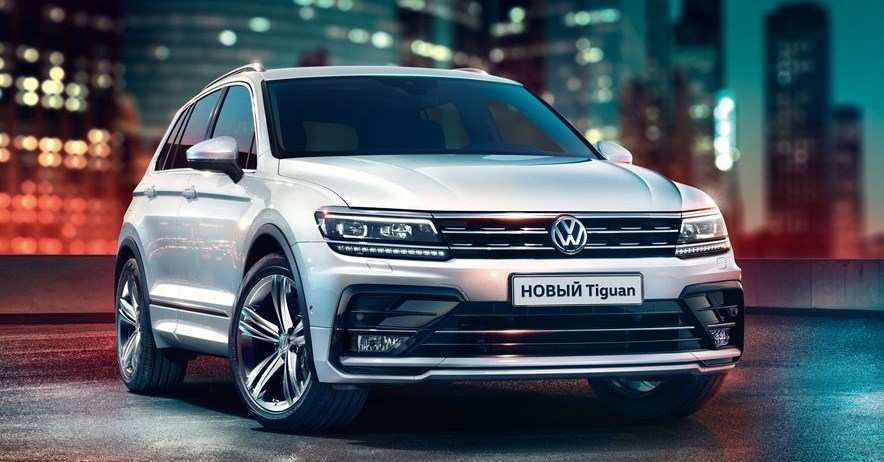 65 The 2020 Volkswagen Tiguan Redesign And Concept