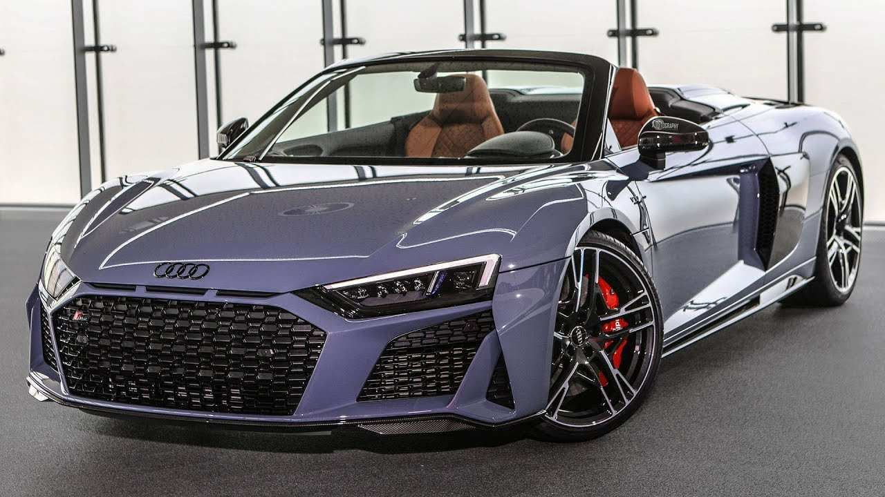 65 The Best 2019 Audi R8 V10 Spyder Redesign And Concept