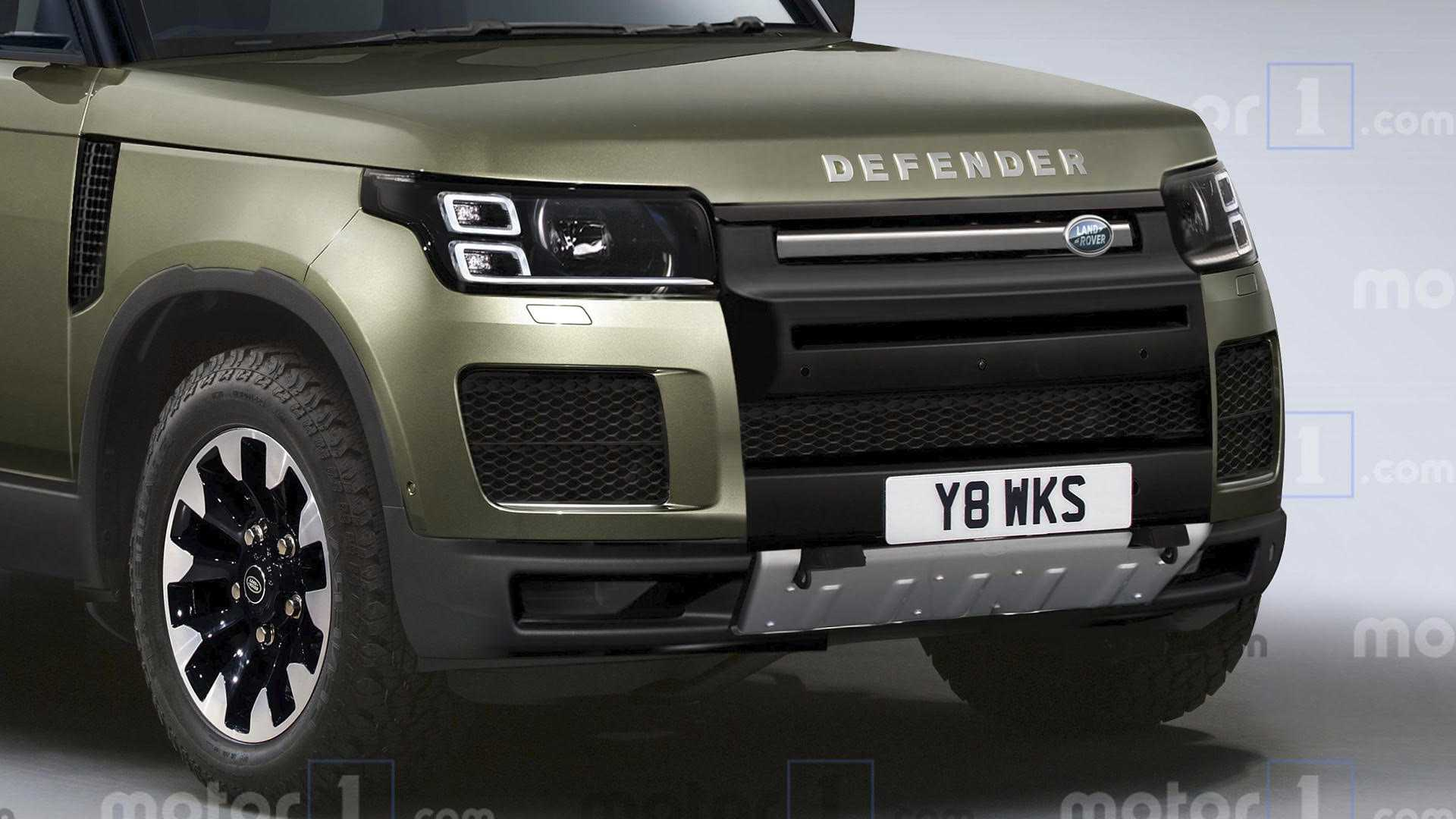 65 The Best 2020 Land Rover Defender Photos