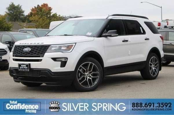 66 A 2019 Ford Explorer Sports History