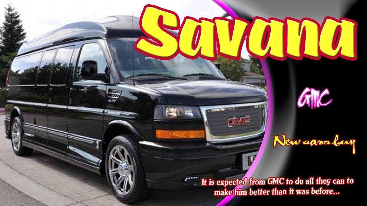 66 A 2019 GMC Savana Overview