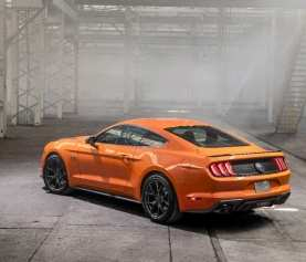 66 A 2020 Ford Mustang Model