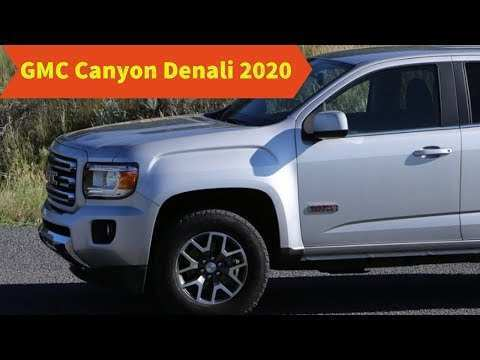 66 A 2020 GMC Canyon Denali Release Date And Concept