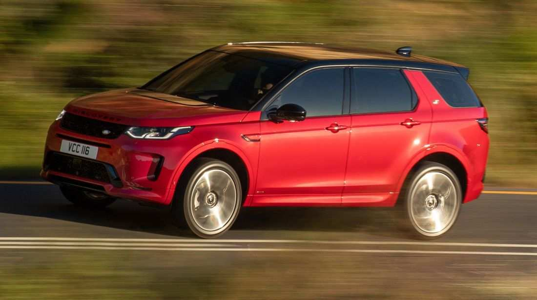 66 A 2020 Land Rover Discovery Sport Spy Shoot