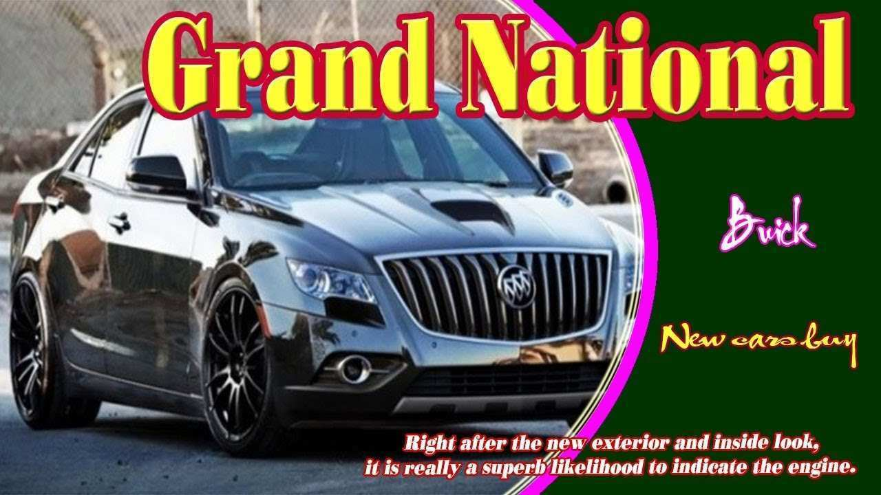 66 All New Buick Regal Grand National 2020 Redesign And Review