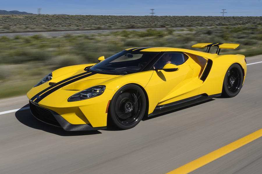 66 The 2019 Ford GT40 Speed Test