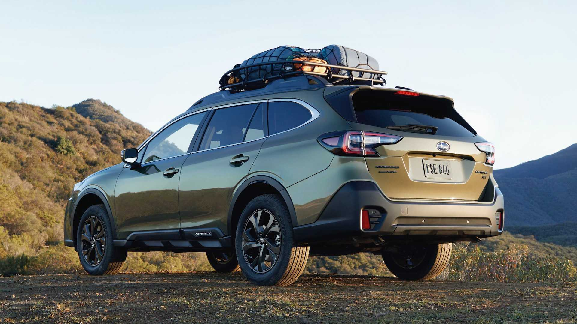 66 The 2020 Subaru Outback Photos Redesign And Concept