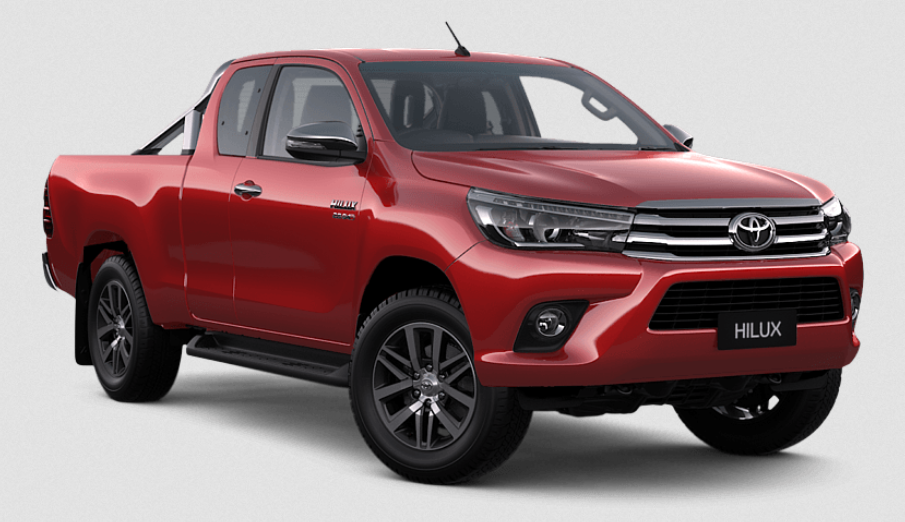 66 The 2020 Toyota Hilux Interior