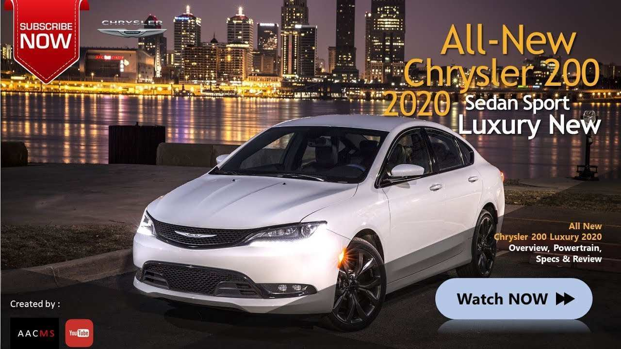 66 The Best 2020 Chrysler 200 Configurations