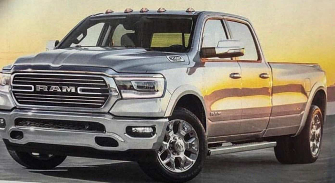 66 The Best 2020 Dodge Ram 3500 Redesign And Concept