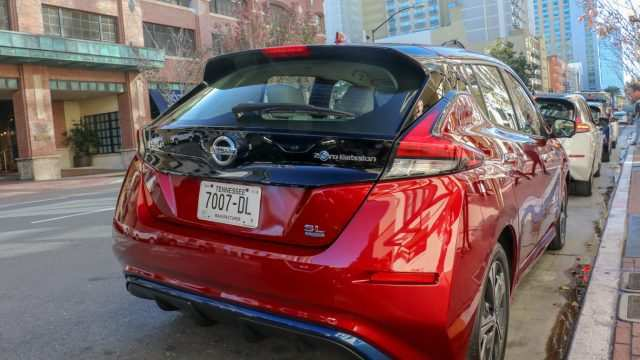 66 The Nissan Leaf 2019 Review New Concept