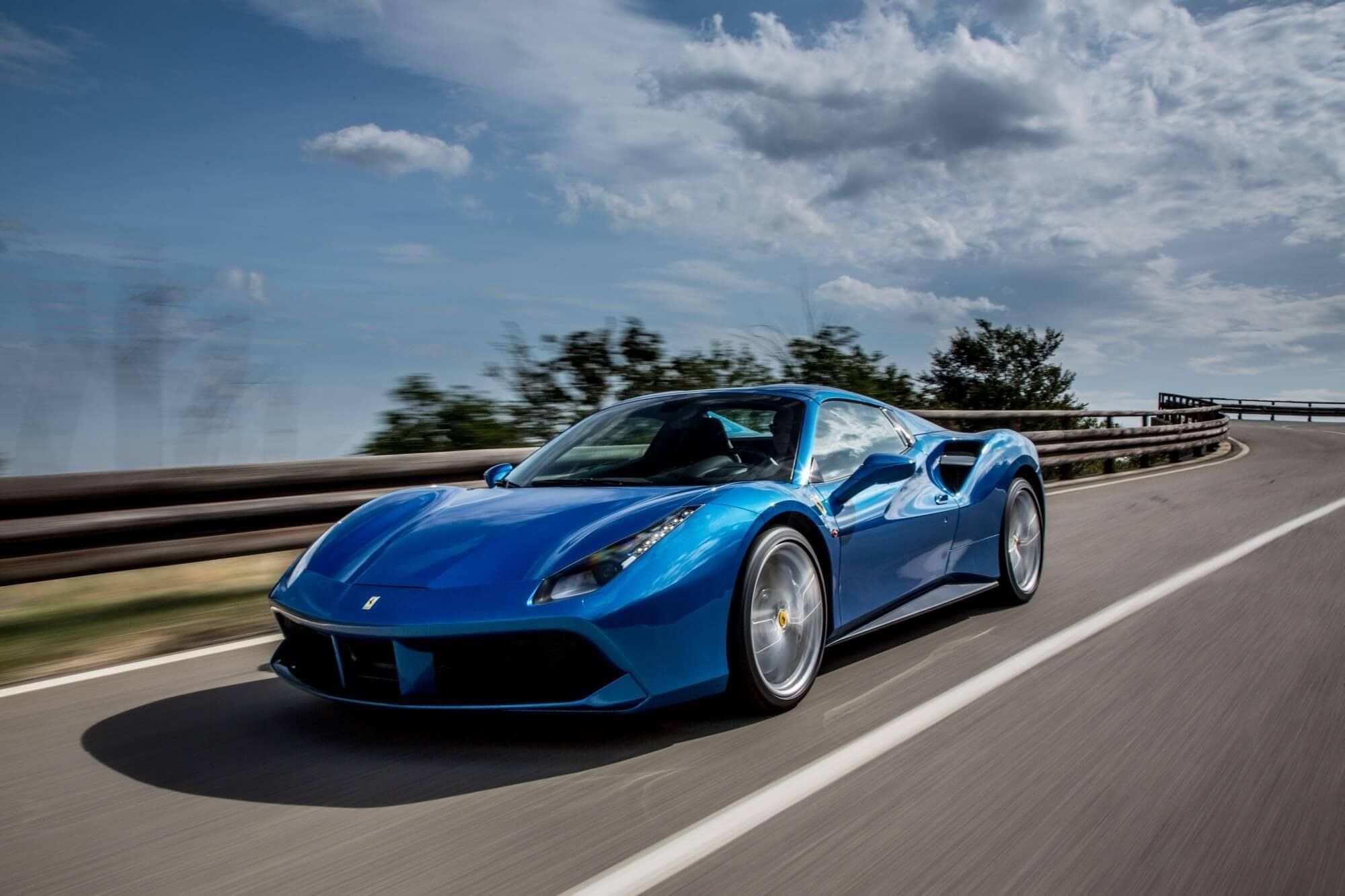67 A 2019 Ferrari 458 Spider Exterior And Interior