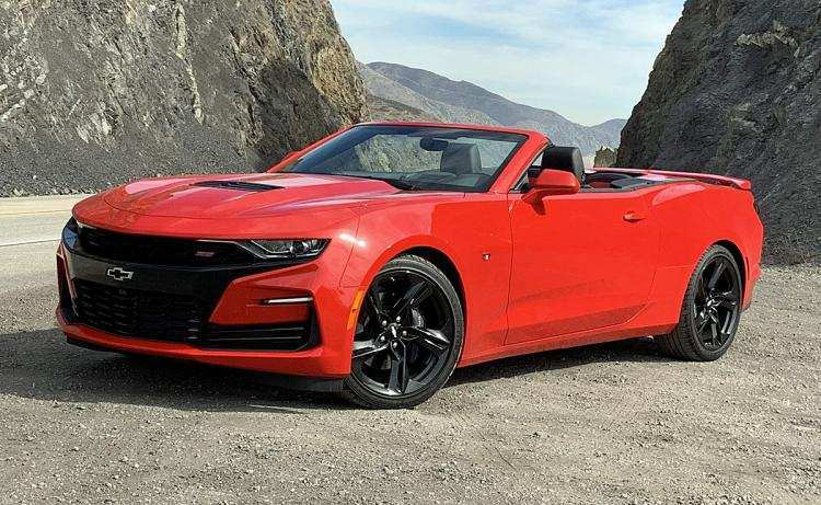 67 A 2019 The Camaro Ss First Drive