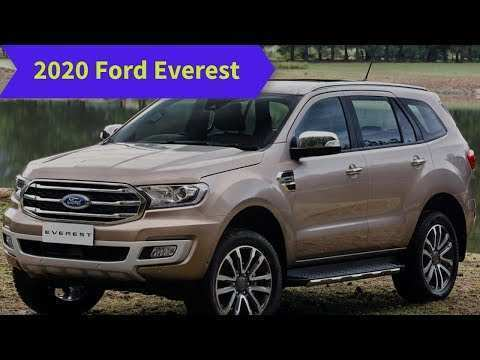67 A 2020 Ford Everest Photos