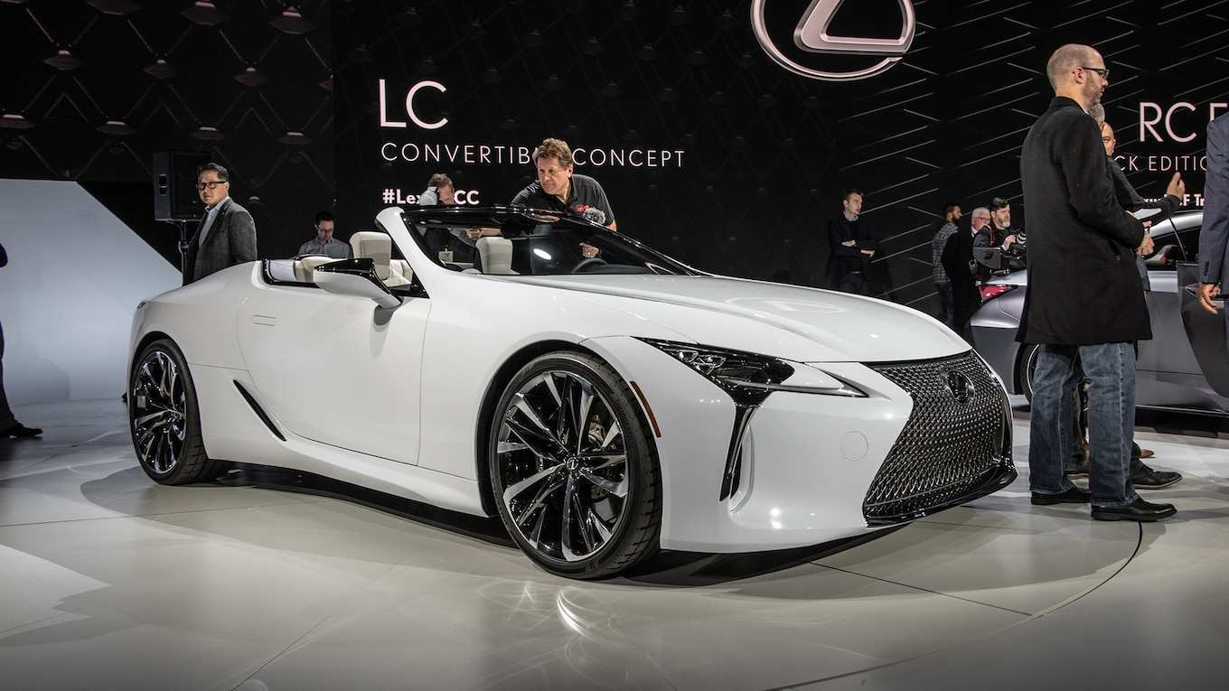 67 A 2020 Lexus Lc 500 Convertible Price Redesign And Concept