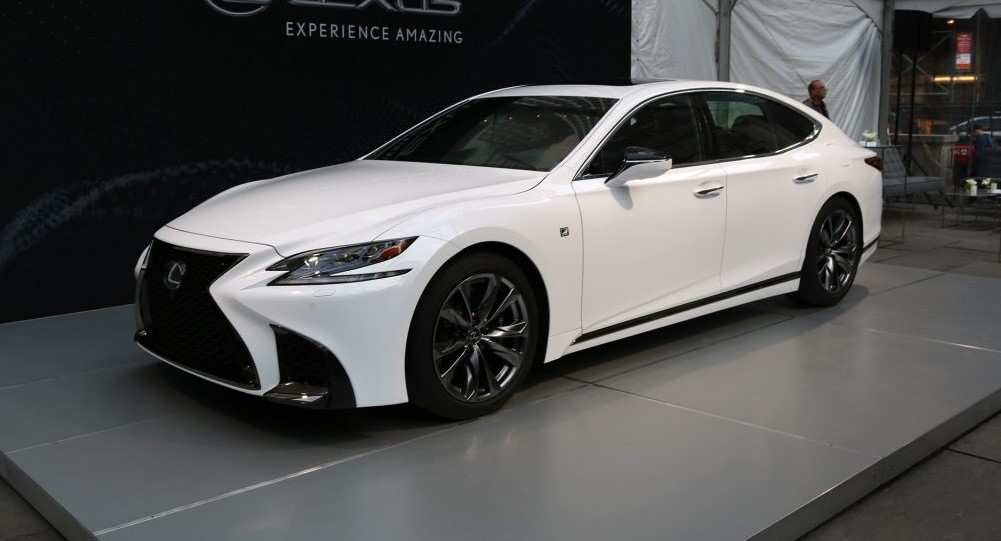 67 A 2020 Lexus Ls 460 Spy Shoot