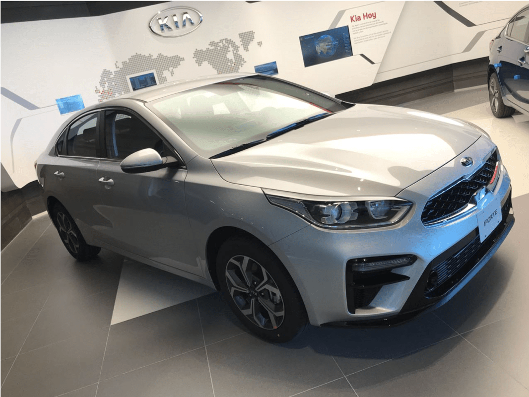 67 A Kia Mexico Forte 2019 Spy Shoot