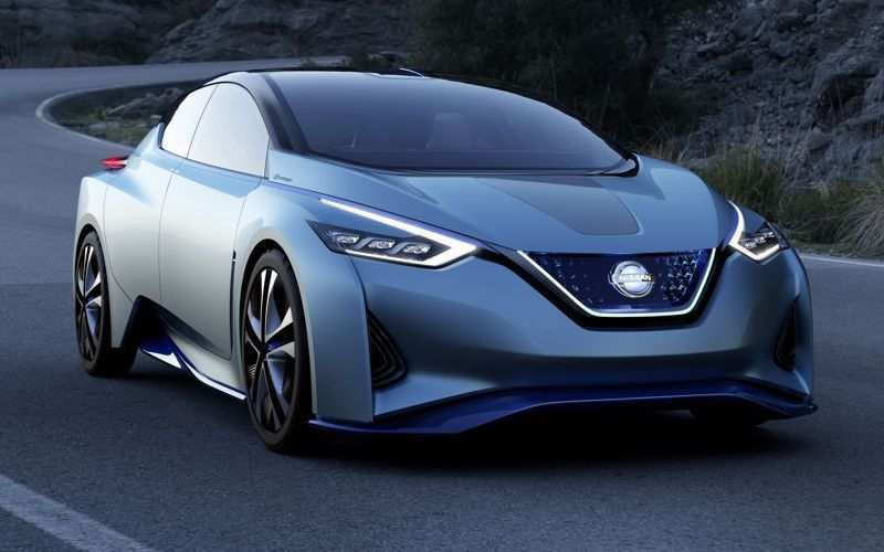 67 A Nissan Electric Car 2020 Spy Shoot