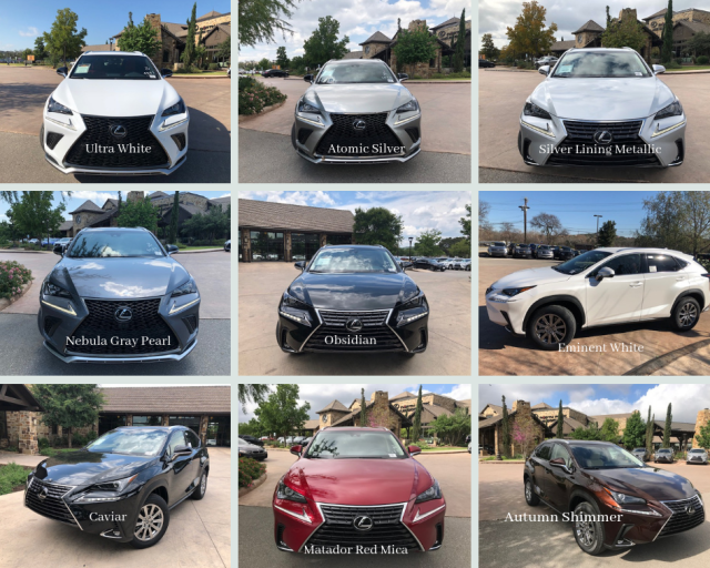 67 All New Lexus 2019 Colors Configurations