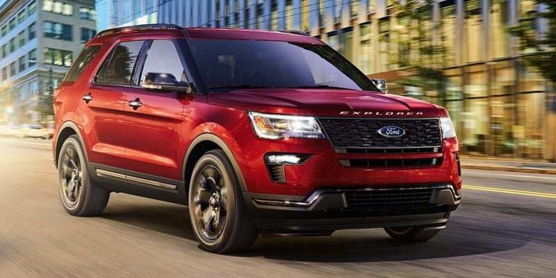 67 Best 2019 The Ford Explorer Concept And Review